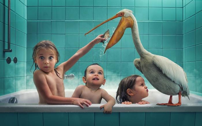 Детские семейные портреты